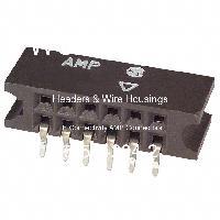 5-534204-2 - TE Connectivity AMP Connectors - Header & Rumah Kawat