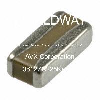 0612ZC225KAJ2A - AVX Corporation - Multilayer Ceramic Capacitors MLCC - SMD/SMT