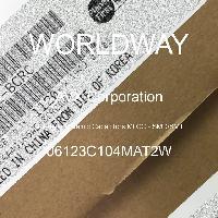 06123C104MAT2W - AVX Corporation - Multilayer Ceramic Capacitors MLCC - SMD/SMT