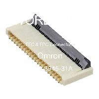 XF2B-3945-31A - OMRON Electronic Components LLC - FFCおよびFPCコネクタ