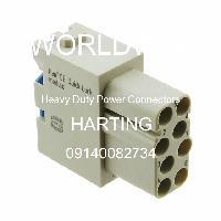 09140082734 - HARTING - Konektor Daya Tugas Berat