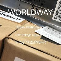 TPS77725PWPR - Texas Instruments - Reguladores de voltaje LDO