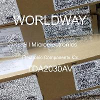 TDA2030AV - STMicroelectronics - 전자 부품 IC