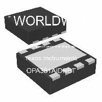 OPA381AIDRBT - Texas Instruments - High Speed Operational Amplifiers