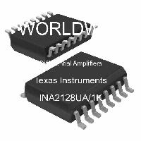 INA2128UA/1K - Texas Instruments - Differential Amplifiers