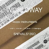 SN74ALS139D - Texas Instruments - 编码器,解码器,多路复用器和多路复用器