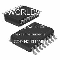 CD74HC4316M96 - Texas Instruments - Circuitos integrados de interruptor analógico