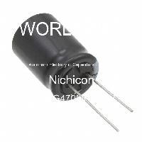 URS2G470MHD1TN - Nichicon - Kapasitor Elektrolit Aluminium - Bertimbel