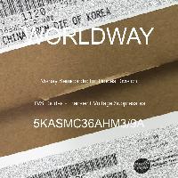 5KASMC36AHM3/9A - Vishay Semiconductor Diodes Division - TVSダイオード-過渡電圧サプレッサ