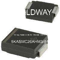 5KASMC26AHM3/9A - Vishay Semiconductor Diodes Division - Điốt TVS - Ức chế điện áp thoáng qua
