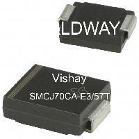 SMCJ70CA-E3/57T - Vishay Intertechnologies