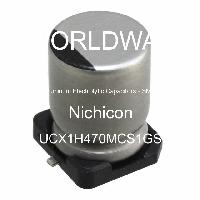UCX1H470MCS1GS - Nichicon - Aluminum Electrolytic Capacitors - SMD