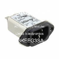 03KEEG3SA - Delta Electronics - Modules d'entrée d'alimentation CA