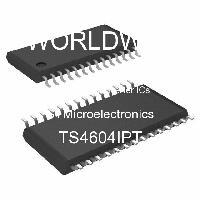 TS4604IPT - STMicroelectronics - 오디오 D / A 컨버터 IC