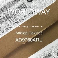 AD9760ARU - Analog Devices Inc - المحولات الرقمية إلى التناظرية - DAC