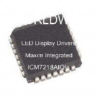 ICM7218AIQI+ - Maxim Integrated Products - Driver display a LED