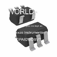 OPA820IDBVT - Texas Instruments - High Speed Operational Amplifiers