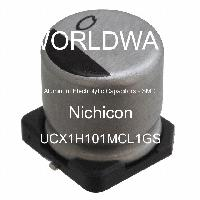 UCX1H101MCL1GS - Nichicon - Aluminum Electrolytic Capacitors - SMD