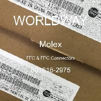 501616-2975 - MOLEX - FFC & FPC Connectors