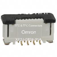 XF2J-0824-11A - Omron Electronics Inc-EMC Div - FFCおよびFPCコネクタ