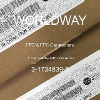 3-1734839-8 - TE Connectivity AMP Connectors - FFC & FPC Connectors