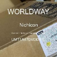 UMT1A470MDD1TE - Nichicon - Kapasitor Elektrolit Aluminium - Bertimbel