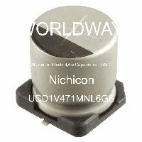 UCD1V471MNL6GS - Nichicon - Aluminum Electrolytic Capacitors - SMD