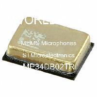 MP34DB02TR - STMicroelectronics - MEMS 마이크