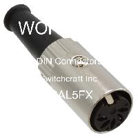 06AL5FX - Switchcraft Inc. - DIN Connectors