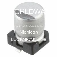 UUQ1V4R7MCL1GB - Nichicon - Aluminum Electrolytic Capacitors - SMD