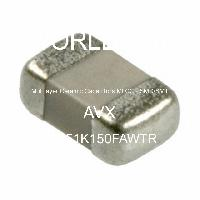 08051K150FAWTR - AVX Corporation - Kapasitor Keramik Multilayer MLCC - SMD / SMT