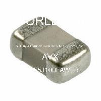 08055J100FAWTR - AVX Corporation - Mehrschichtkeramikkondensatoren MLCC - SMD /