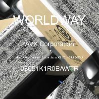 08051K1R0BAWTR - AVX Corporation - Mehrschichtkeramikkondensatoren MLCC - SMD /