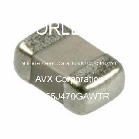 08055J470GAWTR - AVX Corporation - Multilayer Ceramic Capacitors MLCC - SMD/SMT