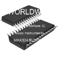 MAX3243ECPWR - Texas Instruments