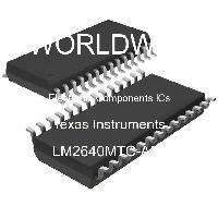 LM2640MTC-ADJ - Texas Instruments