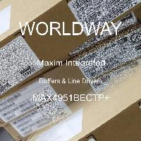 MAX4951BECTP+ - Maxim Integrated Products - Tampoane și șoferi de linie