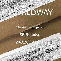 MAX7036GTP+T - Maxim Integrated Products - RF Receiver