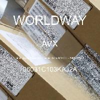 06031C103KAJ2A - AVX Corporation - Capacitores de cerâmica multicamada MLCC - SM