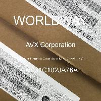 06031C102JA76A - AVX Corporation - Condensateurs céramique multicouches MLCC - S