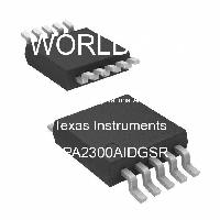 OPA2300AIDGSR - Texas Instruments - High Speed Operational Amplifiers