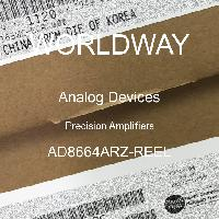 AD8664ARZ-REEL - Analog Devices Inc - Precision Amplifiers