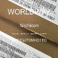 UPT2G270MHD1TO - Nichicon - Kapasitor Elektrolit Aluminium - Bertimbel