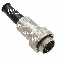 09CL4MX - Switchcraft Inc. - Conectores DIN