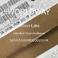 501AAA25M0000BAFR - Silicon Labs - Oscillateurs d'horloge standard