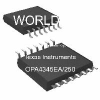 OPA4345EA/250 - Texas Instruments - Operational Amplifiers - Op Amps