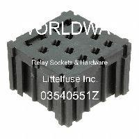 03540551Z - Littelfuse - Relay Sockets & Hardware