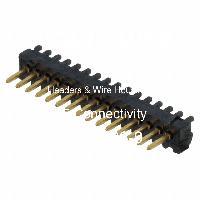 5-104186-9 - TE Connectivity AMP Connectors - Header & Rumah Kawat