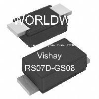 RS07D-GS08 - Vishay Semiconductors - ダイオード-汎用、電源、スイッチング