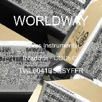 TWL6041BSRSYFFR - Texas Instruments - Interface - CODECs
